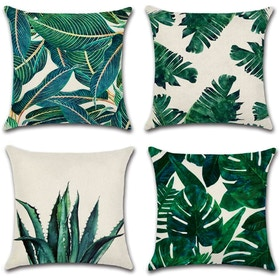 Federe cuscini botanica