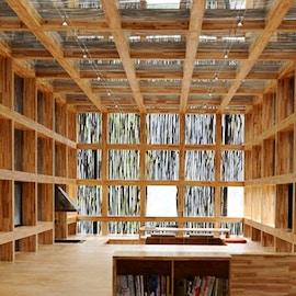 Biblioteca Liyuan, un'architettura sostenibile che esalta il paesaggio