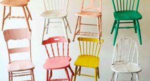 Idee per rinnovare le sedie in legno