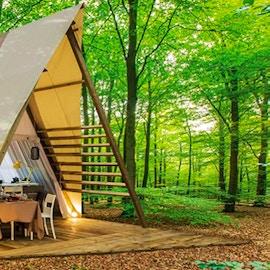 Glamping: vacanze in tende di lusso. I 10 migliori campeggi in Italia