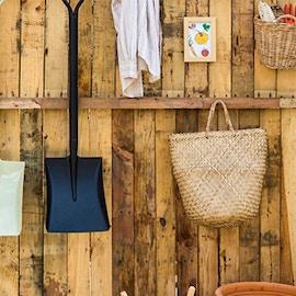 Capanno da giardino in legno. 5 idee