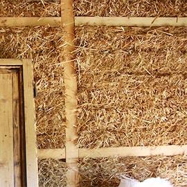 Case ecologiche in legno e paglia